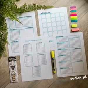 Kalendarz | Planner Roku Szkolnego