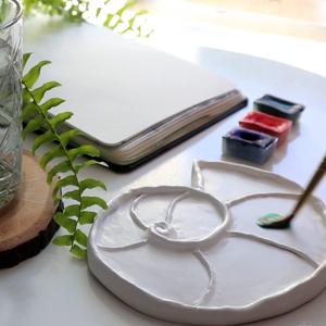 Paleta do akwareli DIY – Zrób to sam