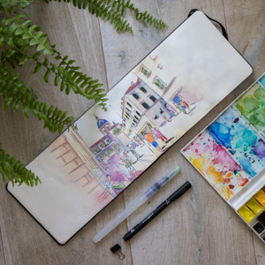 Sketchbook Tour #1 – Chorwacja w akwareli