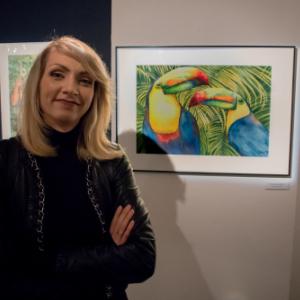 MAGIA MIEJSC wystawa grupy 100 watercolours