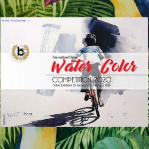 WYRÓŻNIENIE -Interenational WaterColour Painting Competition