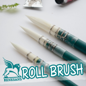 Renesans Roll Brush – Recenzja pędzli do akwareli