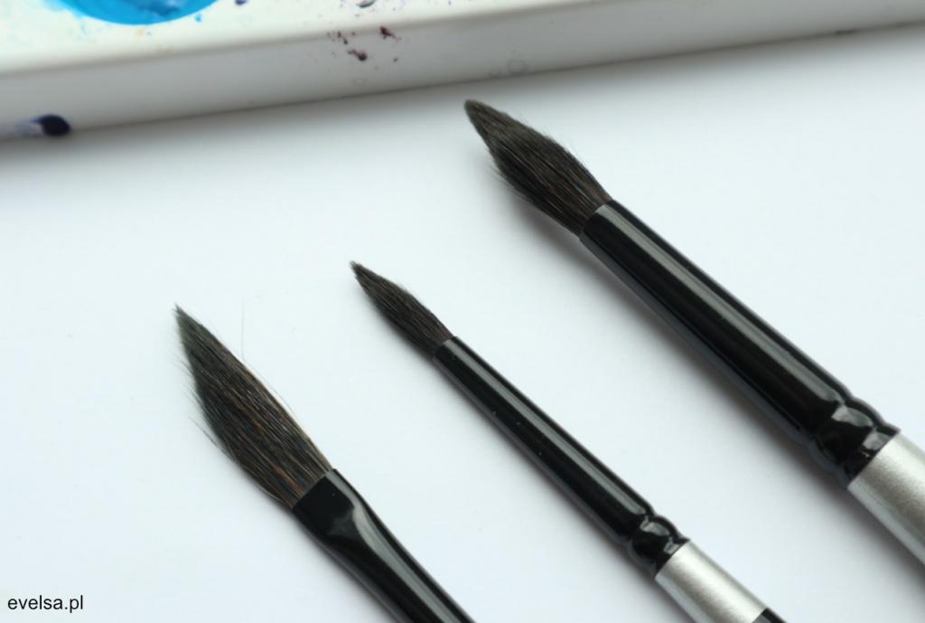 silver brush black velvet pedzle do akwareli recenzja review opinion 2