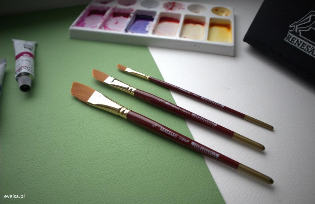 pedzle renesans 1009JP do akwareli akwarela akwarele brush watercolor