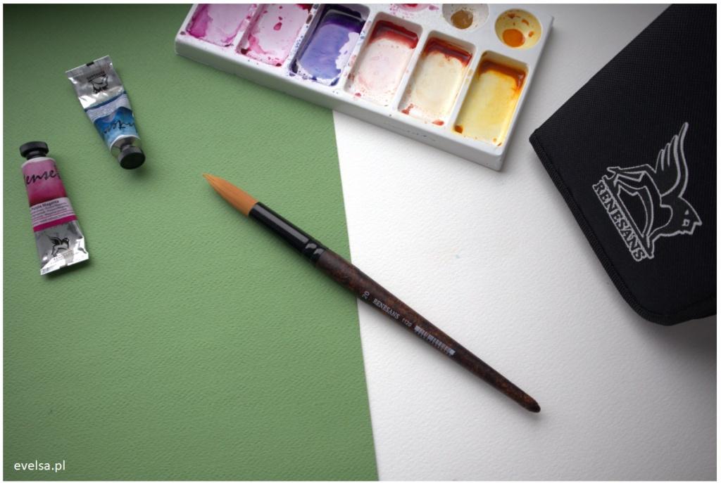 pedzle renesans 1120 do akwareli akwarela akwarele brush watercolor
