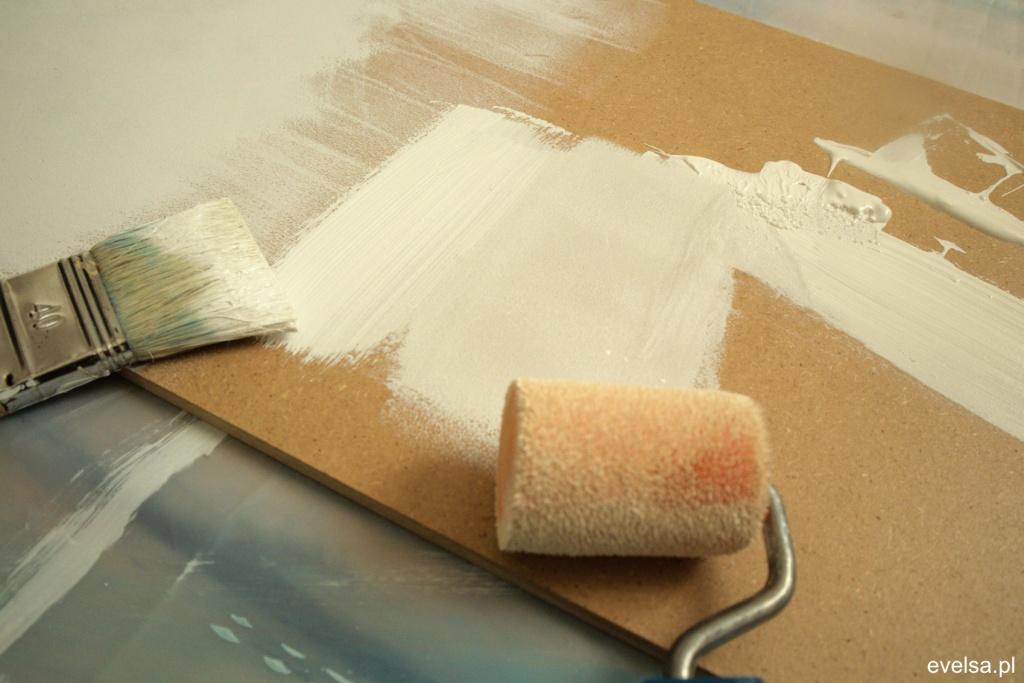 akryle dla poczatkujacych gesso grunt akrylowy gruntowanie podloza plotna 5