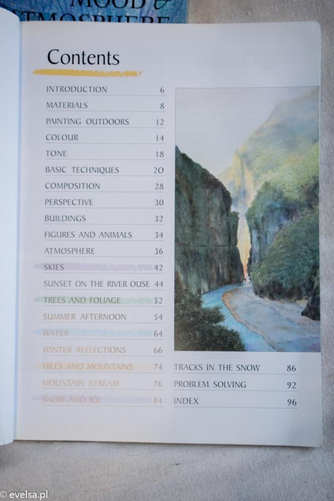 Kurs Malowania. Akwarele. Natura. Richard Bolton
