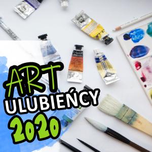 Artystyczni ULUBIEŃCY 2020 – pędzle, palety, lampka biurkowa, wystawa, i …
