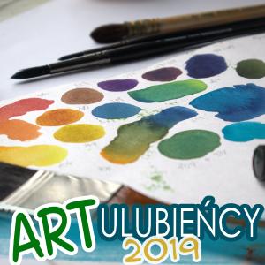 ARTystyczni Ulubieńcy 2019 – akwarele, pędzle, program graficzny, itp.