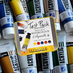 Farby i media akrylowe, akwarele | Haul Plastyczny