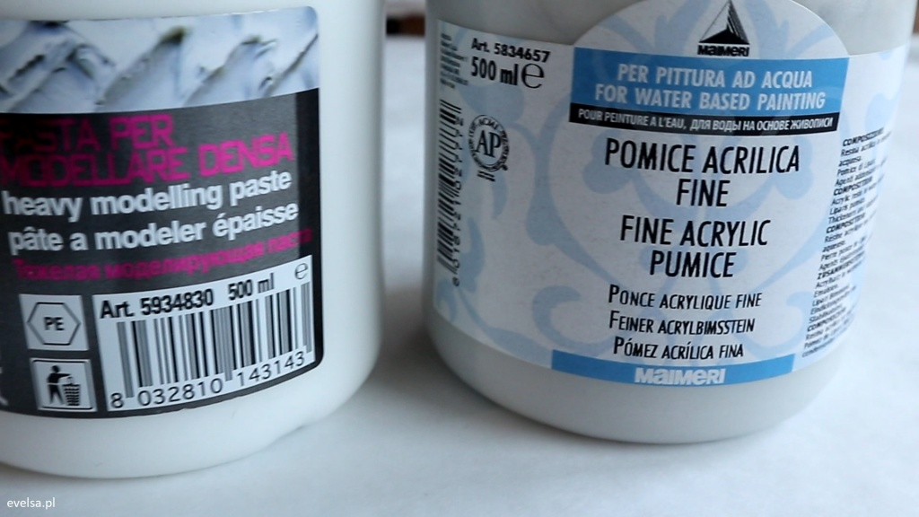 Farby i media akrylowe Pasta ciężka Acrilico, Maimeri