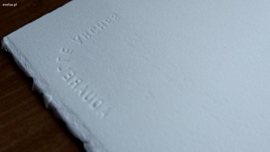 papier arches hot press arkusz papier do akwareli