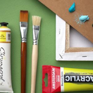 Malowanie farbami akrylowymi   Praktyczny PORADNIK