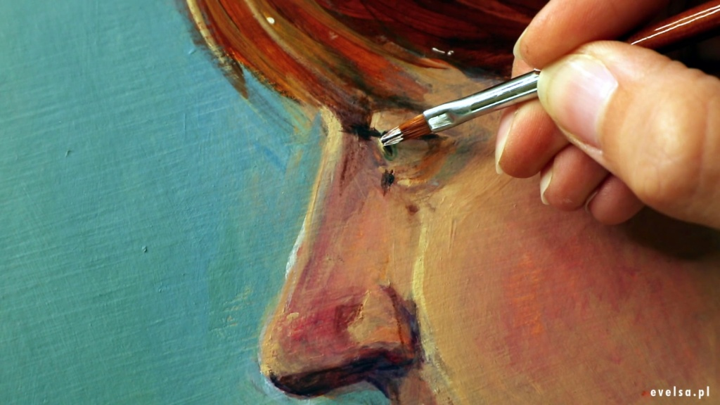 nauka malowania farbami akrylowymi