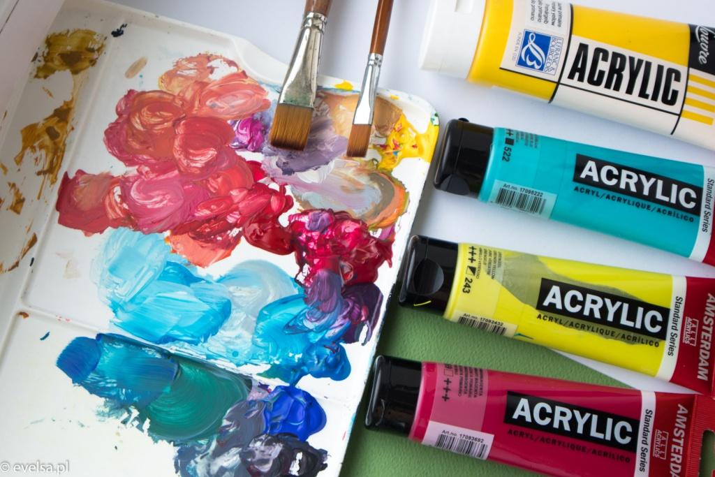 jak malować farbami akrylowymi farby akrylowe