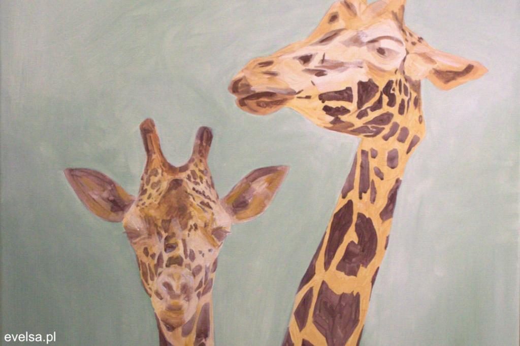 nauka malowania farbami akrylowymi podmalówka