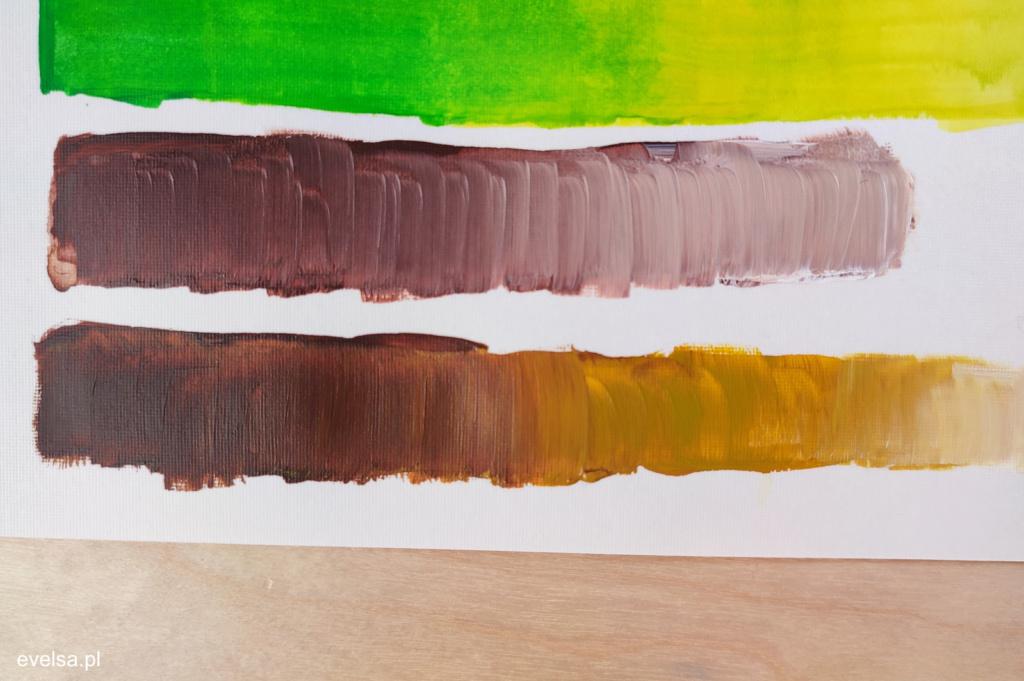 malowanie farbami akrylowymi poradnik nauka malowania 12