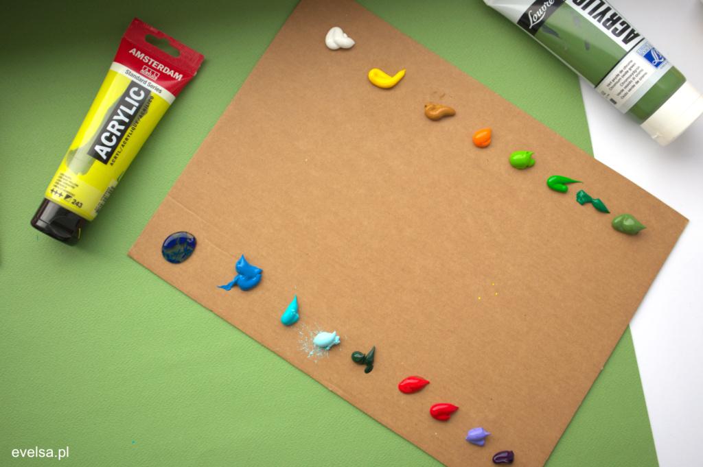 malowanie farbami akrylowymi poradnik